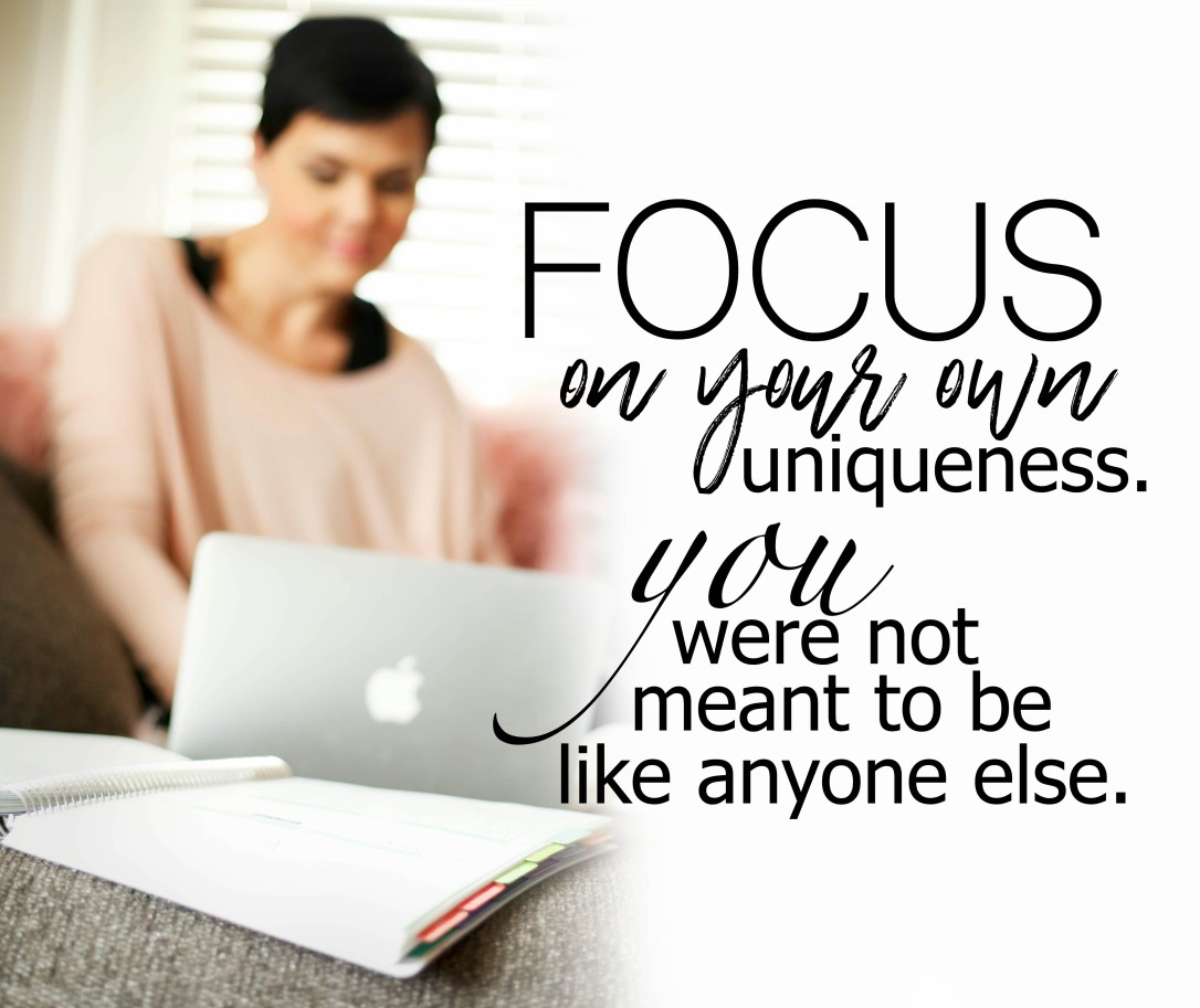 focus on your own